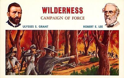 Patriotic~Civil War~Wilderness~Fire Turns All Red~South Won This~US Grant~RE Lee
