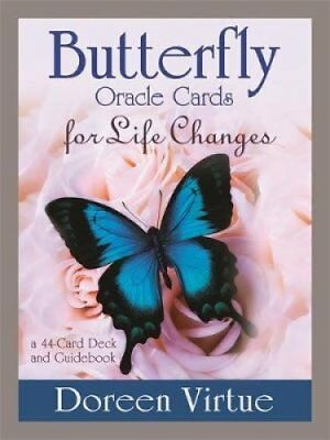 Butterfly Oracle Cards for Life Changes A 44-Card Deck and Guid... 9781401950033