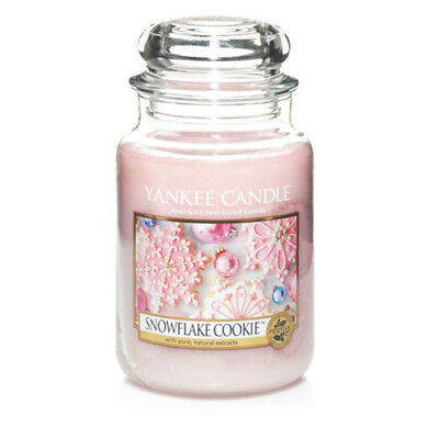 Yankee Candle Snowflake Cookie Large Jar Scented Candle
