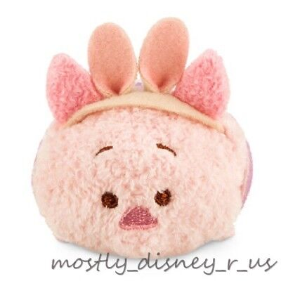 "New Disney Store Piglet Tsum Winnie the Pooh Easter Mini Plush 3.5"" Toy Doll"