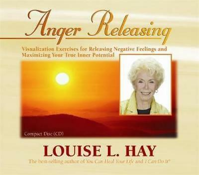 NEW Anger Releasing By Louise L. Hay Audio CD Free Shipping