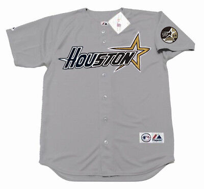 8922db96d JEFF BAGWELL Houston Astros 1999 Majestic Throwback Away Baseball Jersey