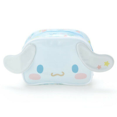 Cinnamoroll vinyl pouch Sanrio Kawaii Cute F/S NEW