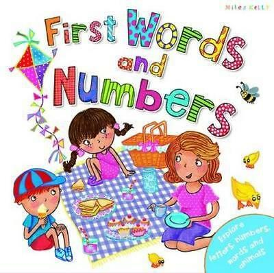 NEW  First Words and Numbers By Miles Kelly Hardcover Free Shipping