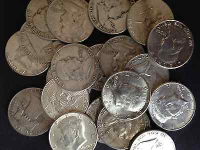 1/2 Pound Lb Kennedy & Roosevelt 90% Silver Coins U.s. Minted One Half Lb Lot