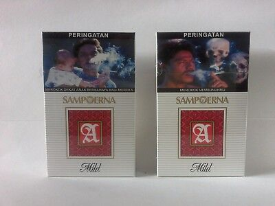 Collectible SAMPOERNA A MILD Original 4 pack x16s New Unopened Sealed 2017