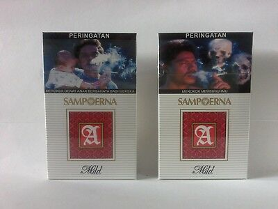 Collectible SAMPOERNA A MILD Original 10 pack x16s New Unopened Sealed 2017
