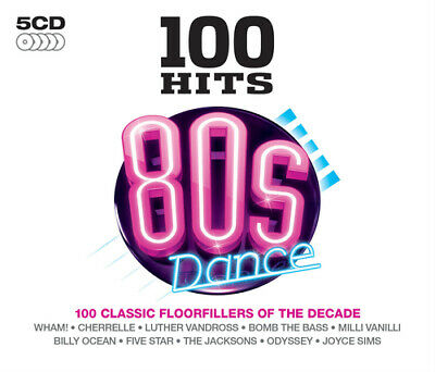 Various Artists : 100 Hits: 80s Dance CD (2015)