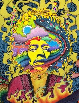 Psychedelic Trippy Art poster Abstract Silk Art Poster Prints Wall Painting 011