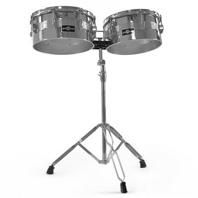 Timbales 13'' x 14'' with stand by Gear4music