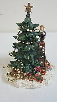 "Vintage New England Village Series Department 56 ""Christmas Tree"" Holiday Decor"
