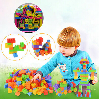 Plastic Building Blocks Bag Intelligence Educational Toy Kids/Children Gift