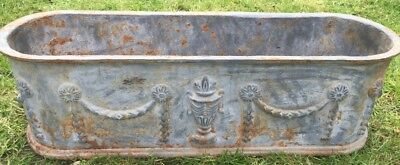 Beautiful Old Cast Iron Planter