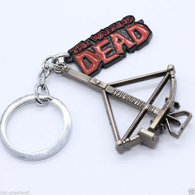 Fans Adults The Walking Dead Metal Enamel Pendent Keyring Keychain Gift