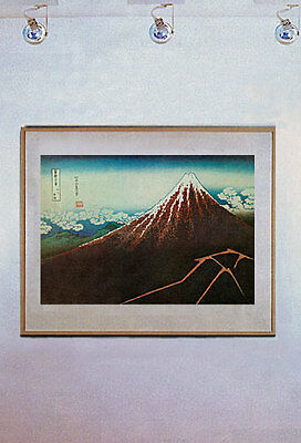 Thunderstorm Mt. Fuji 15x22  Japanese Print by Hokusai Asian Art Japan samurai