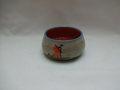 Antique / Vintage Motto Ware Small Sugar Bowl