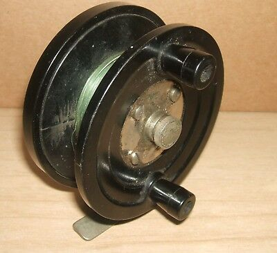 Jw young centrepin fishing reel needs attention working for Center pin fishing