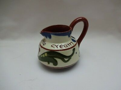 Watcombe Motto Ware Cream Jug