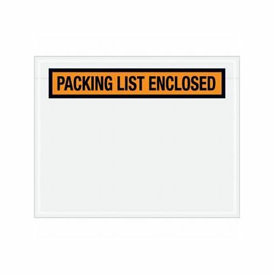 "Box Packaging ""Packing List Enclosed"" Envelope, 2 Mil Poly, 1,000/cs"
