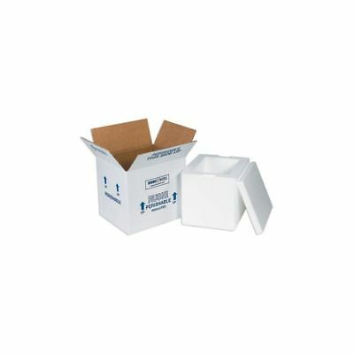Box Packaging Insulated Shipping Container, Kraft 8/Case