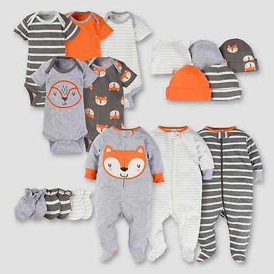 Gerber® Baby Boys' 16pc Fox Layette Gift Set