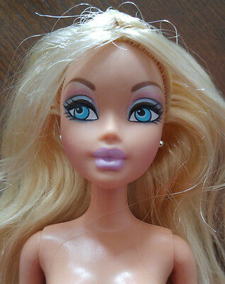 Barbie My Scene Doll Nude - Kennedy - Long Blond Hair - Cute