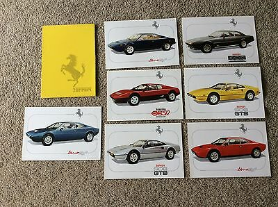 1977 ferrari original  full line dealership showroom sales portfolio