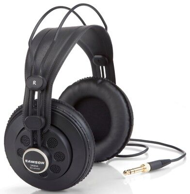 Samson SR850 Professional Studio Reference Headphones * BRAND NEW *