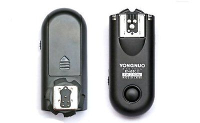 Yongnuo RF603C II C1 - Kit de 2 disparadores inalámbricos para flashes y cámara