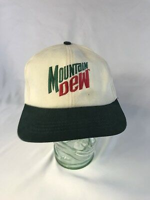 Mountain Dew Baseball Cap Hat Snap Back