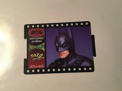 1997 Batman And Robin Movie Clip Tazos Number 27