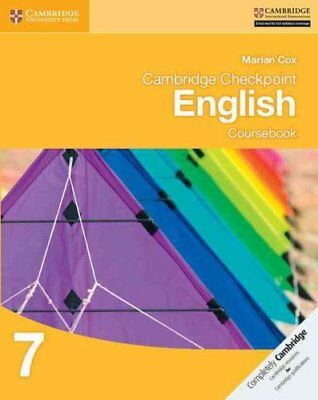 Cambridge Checkpoint English Coursebook 7 by Marian Cox 9781107670235
