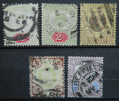 Great Britain Stamps  Used EVII Group