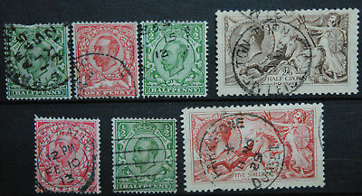 Great Britain Stamps   Used GV Group 2 incl Hi Vals