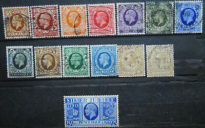 Great Britain Stamps   Used GV Group 3