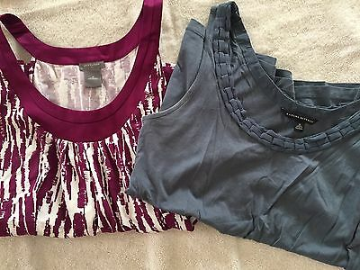 Lot Of Two Tank Tops And Taylor And Banana Republic Size Medium