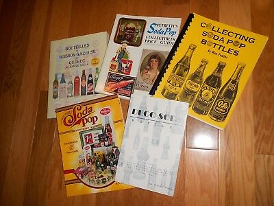 Collectible Books on Soda Pop Bottles