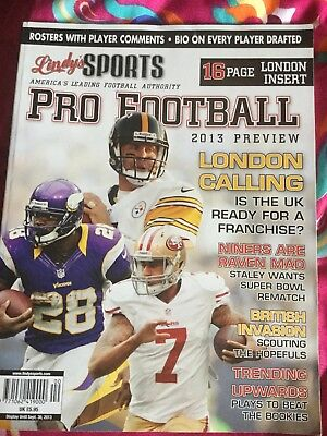 Lindy's Pro Football 2013 Preview - NFL Magazine