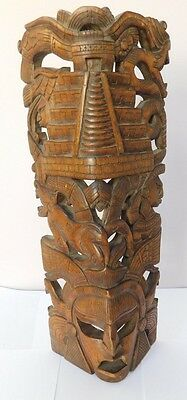 Wood carving- large- possibly South American.