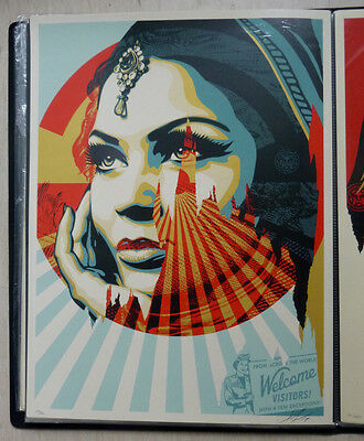 Shepard Fairey (OBEY) - Original Siebdruck - Target Exceptions, Sign.nummeriert