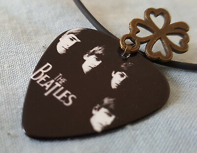 With The Beatles Pendant Album Cover John Lennon Paul McCartney Ringo Star Old