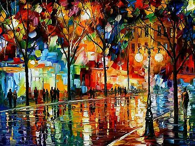 STUNNING OIL PAINTING CANVAS PICTURE WALL ART LARGE 20x30""