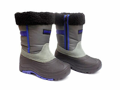 Ranger ADVENTURER Youth Boys Blue Gray Black Winter Snow Boots