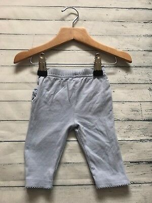 Baby Girls Clothes 0-3  Months - Cute Blue Leggings Trousers