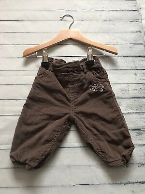 Baby Girls Clothes 3-6 Months - Cute  Cord Trousers -
