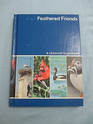 Childcraft How and Why Library Annual 1983 Feathered Friends Encyclopedia
