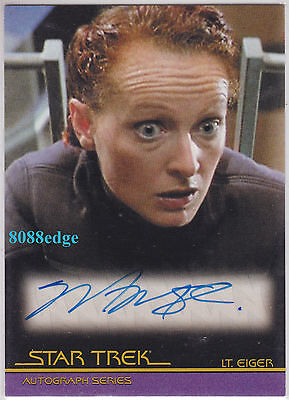 2010 STAR TREK QUOTABLE MOVIES AUTO: MARNIE McPHAIL #A79 AUTOGRAPH FIRST CONTACT