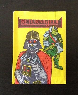 """1983 Monty (Holland) """"Return of the Jedi"""" - Unopened Pack (6 Cards)"""