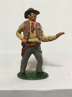 Vintage Lead Timpo Cowboys Western Wild West Sheriff Hopalong Cassidy