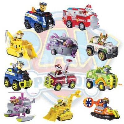 Paw Patrol Vehicle with Pup Collectable Toys 11 Different Figures Models